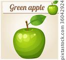 녹색, 벡터, 예술 36042924