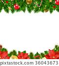 Christmas Borders 36043673