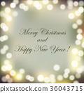 Christmas Bokeh Background 36043715
