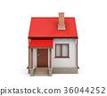 3d house exterior 36044252