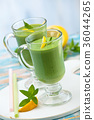 spinach, smoothie, milkshake 36044265