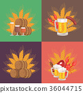 beer, vector, design 36044715