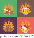beer, vector, design 36044715