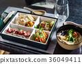 bento box and soup 36049411