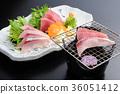 grill, roasted, sashimi 36051412