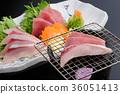 grill, roasted, sashimi 36051413