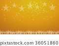ภาพประกอบพื้นหลังภาพคริสต์มาส | เครื่องประดับทองของดาววาดด้วยไฟกลางคืนและเกล็ดหิมะ | คริสต์มาส 36051860