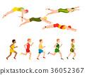 vector, illustration, style 36052367
