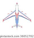 向量 向量圖 飛機 36052702