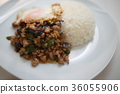 Gapao Rice(米飯米飯泰國米飯食品茉莉香米泰國食品) 36055906