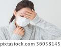 一個健康狀況不佳的女人 36058145