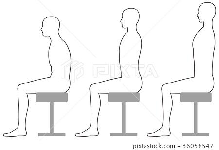 vector, vectors, chair 36058547