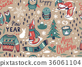 无缝的 圣诞节 圣诞 36061104