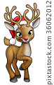 christmas,reindeer,cartoon 36062012