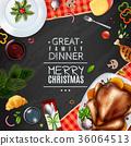 christmas greeting dinner 36064513