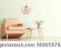 3d, armchair, chair 36065978