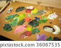 繪畫材料 顏料 油畫顏料 36067535