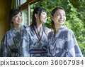 ladies travel, yukata, hot springs vacation 36067984