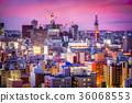 Sapporo, Japan Cityscape 36068553