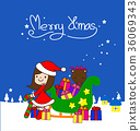 Christmas collection, Vector and illustrations 36069343