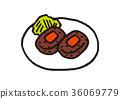 漢堡 漢堡牛排 配菜 36069779
