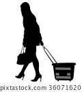 篮子 购物者 买家 36071620
