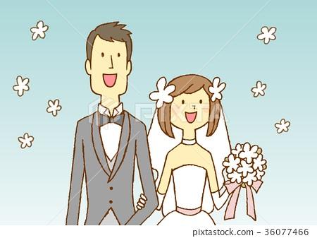 新娘和新郎 36077466