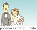 신랑 신부 웨딩 36077467