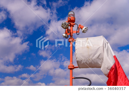 헬기장의 풍향 풍속 측정기구 36080357