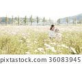母親,女兒,公園 36083945