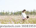 母親,女兒,公園 36083959