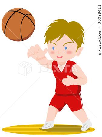 농구, 바스켓볼, 패스 36089411
