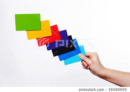 손,카드 36089699