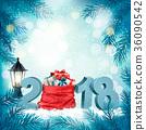 christmas, gift, present 36090542