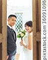 포토 웨딩 결혼 신랑 신부 36091096