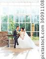 포토 웨딩 결혼 신랑 신부 36091108
