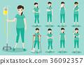 cartoon, pain, patient 36092357