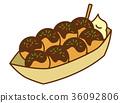 takoyaki, octopus, dumplings 36092806