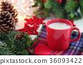 熱牛奶 牛奶 熱飲 36093422