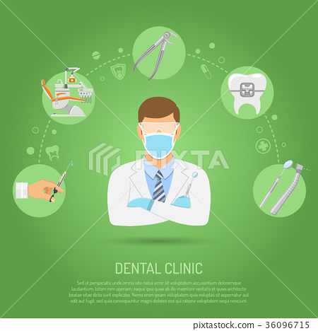 Dental Clinic Concept 36096715