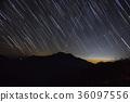 산, 밤하늘, 별 36097556