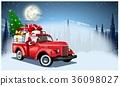 เวกเตอร์,ซานต้า,คริสต์มาส 36098027