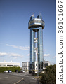 choshi port tower, parking lot, parking place 36101667