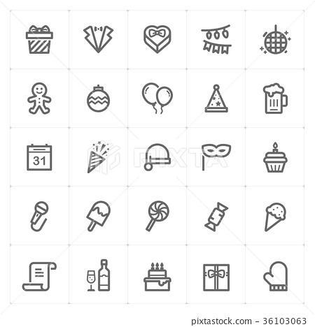 icon, vector, balloon 36103063
