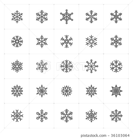 snowflake, vector, background 36103064
