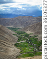 Mountain scenery in Ladakh, Northern India 36105377