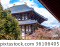 Great Buddha Hall at the Todaiji Temple in Nara 36106405