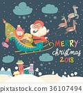 圣诞老人 圣诞老公公 克劳斯 36107494