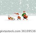 christmas, greeting, snow 36109536