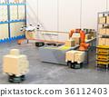 機器人 存儲 儲藏庫 36112403